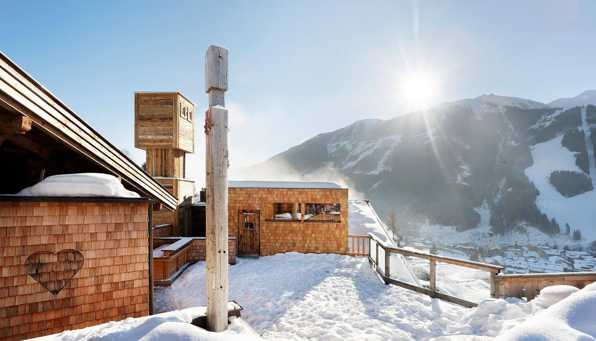 wellness winter urlaub saalbach